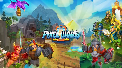 Pixel Wars — MMO Action