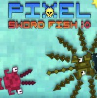 Pixel Sword Fish io
