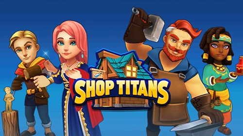 Shop Titans: дизайн и Сделка
