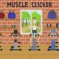 Muscle clicker: Gym game