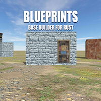 Blueprints - Rust unofficial base builder designer