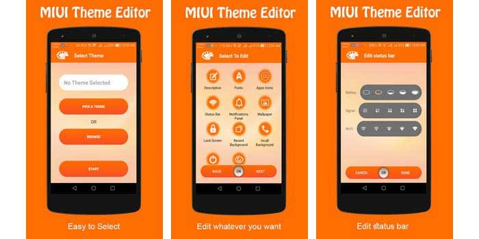 Theme Editor For MIUI