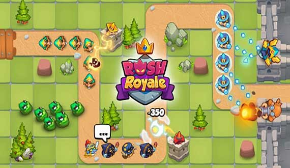 Rush Royale - Tower defense